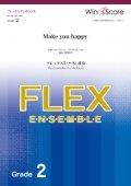 フレックス5〜8重奏楽譜 Make you happy / NiziU 【2020年7月取扱開始】