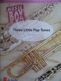 フレキシブルアンサンブル四重奏楽譜 3つのポップ・チューン ディジー・ストラトフォード作曲