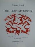 クラリネット4重奏楽譜 4つのスラヴ舞曲 作曲/ドヴォルザーク 編曲/スピンク