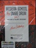 打楽器教材 ドラムス スネア・ドラムのための現代奏法(Modern School for Snare Drum)作曲/ゴールデンベルグ(Goldenberg.M.)
