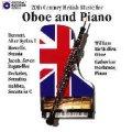 CD オーボエとピアノのための20世紀イギリス音楽