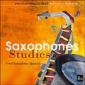 CD 『サクソフォンズ スタディーズ』(2007年8月25日発売)