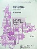 ボディパーカッション3重奏楽譜 ホース・レース(Horse Race) 作曲/M,ホウリフ