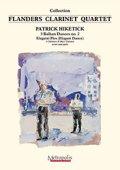 クラリネット4重奏楽譜 3つのバルカンダンス 第2番(3 Balkan Dances no.2 - Elegatni Ples) 作曲/ヒケティック(Patrick Hiketick)