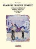 クラリネット4重奏楽譜 Hungarian Dance no.5 作曲/ブラームス 編曲/ヤンセンス