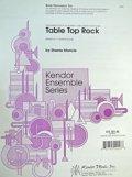 ボディパーカッション3重奏楽譜 テーブル・トップ・ロック 作曲/S,Maricle